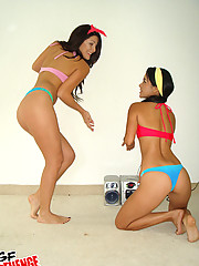 2 super hot little undie stacked teens dance around and later fuck eachother in this hot fucking teen dancing fucking pic set