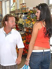 Check out this super big tits milf get picked up in a grocery store then cumfaced after a hard fuck at the house