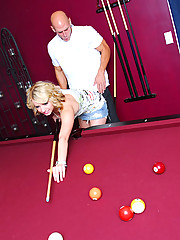Lexi loves a good game of billiards, but a pool cue isn't the kind of stick she's looking for.