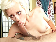 Czech Puffy PEACH Teena is doing her first blowjob video ever! She loves sucking dick and enjoys masturbating in front of the camera, so this is a natural progression for the blonde darling going from...