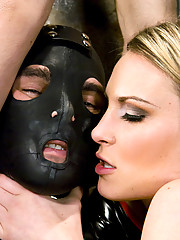 Princess Donna and Harmony Rose fuck slave boy