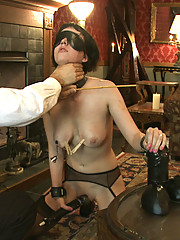 Slave torn is used properly by being stuffed and beaten.