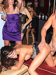 5 super hot mini skirt club babes get fucked and finger fucked in these hot masturbation fucking group sex club orgy