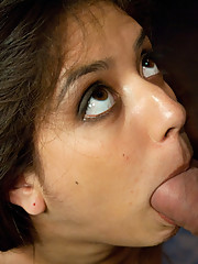 19 year old Latina bound and fucked.