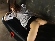 Aya Koizumi has sex toys in her tight ass and very wet pussy