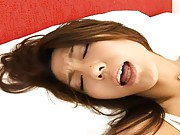 Shiori Tsukimi pussy licked while on her hands and knees