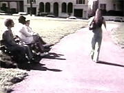 Dude shagging a hot vintage girl in sixties