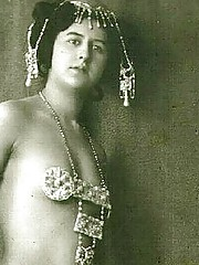 Daring girls wear exotic costumes in twenties