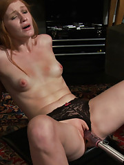 3 rookie girls pussy fight with a fucking machine, competing to be the next FM amateur queen. Orgasm denial, deep, fast fucking and rocking orgasms.