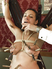 Dana Vixen is tested by the Upper Floor to see if she has what it takes to become an event service slave.