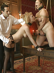 MAESTRO MAINTAINS MORAL BY PUTTING CHERRY TORN AND BELLA ROSSI TO USE!
