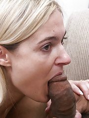 This slutty blonde was so hot that all we could think about was fucking her.