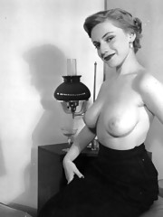 Real vintage topless sweethearts in fifties