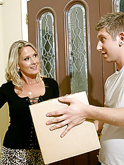 Bridgett Lee is getting to know her young neighbor because he