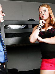 Sierra Skye is away at school experiencing her first taste of freedom, so she starts exploring her bad side. The resident assistant stopped by to make sure she wasn
