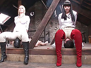 Smothering in skintight jodhpurs