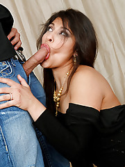 Laurie Vargas needs help with her curtains and Rocco Reed is there to provide it to her.  Her husband is away for business however she is also in need of some loving.  She wants cock in her sexy mouth so bad that she demands it and this Latina gets what s