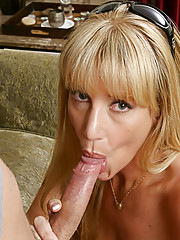 Olivia Parrish had a near death experience on the road and wants Danny Wylde to comfort her.  It seems that Olivia wants more than just comforting because she starts to wrap her lips on his cock and she only wants more from there.  If you give a person an