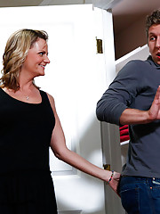 Becca Blossoms is doing laundry and Danny Wylde wants to help out a bit.  She insists that he