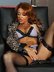 Janet walks into a XXX theatre for some private time, but her plans are foiled when Jordan walks in. She is shy at first and has trouble masturbating with Jordan down the aisle doing the same thing, so she decides to fuck him instead.