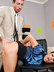 Vanilla is a Politician that will do anything to win the upcoming election. She makes a commercial smearing her opposing candidate, Jordan. When he sees it, he decides to fight back and threaten to release explicit photos of her unless she sleeps with him
