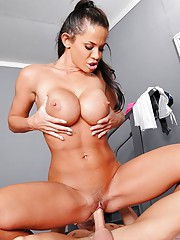 """Are you ready to sweat?  Are you ready to feel the burn""""  Are you ready to push your body to its limits?  Then come join Savannah as she pumps, thrusts and gets stretched out."""