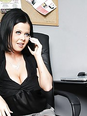 Loni and Johnny are both up for the same promotion, but Loni gives her boss head in order to secure the position. Later on, Loni makes a budgeting error on her first day as V.P. so she calls Johnny into her office and confesses her mistake. Johnny decides