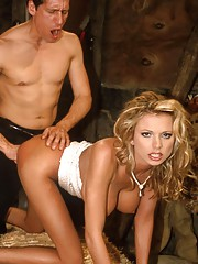 Briana Banks bent over and fucked hardcore