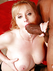 Bethany Sweet Stabbed With Giant Cock And Facialized