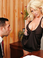 Brooke has finally come back to work after having spent six months relaxing and improving her overall look. Keiran, Brooke