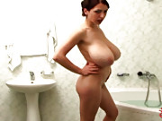 Boobs in Bath