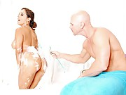 Francesca Le starts her day by taking a bath and ends it by getting her ass fucked six ways from Sunday by the one and only Johnny Sins.