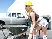 It is a hard day on the construction site. The project is falling behind, and the crew is nowhere to be found. So Haley steps out to do what she does best, taking a hold of the situation and working hard to get results. Her dedication proves successful as