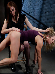 Princess Donna ties up a sexy Milf and has her way with her. Electricity, bondage, lesbian domination, and more!