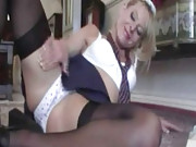 Schoolgirl Michelle strips and masturbates