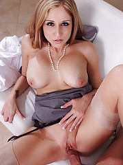 Paris Kennedy is a great secretary with an even better rack. But she
