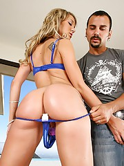 Amazing hot fucking ass amy brooks gets anal fucked and pussy fucked hard in this hot 3some fucking cumfaced update