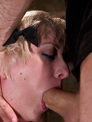 Lolita Haize trained on camera live in the basement for a day of fist fucking and anal service.