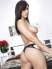 Isis Love is the horny milf with a huge cock in her