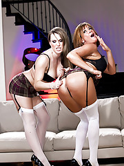 """Busty bitch Tory Lane plays with Harmony Rose in this Hardcore Photo Set"""
