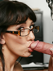 Dane Cross is late for class and starts to have problems seeing out of his glasses.  He can