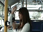 Japanese AV Model schoolgirl cutie about to be violated in public
