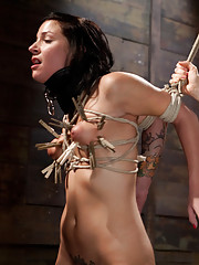 Two hot sadistic lesbian dommes double penetrate sweet and adorable girl.