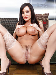 Lisa Ann is cleaning after the wild party they had last night and when her son