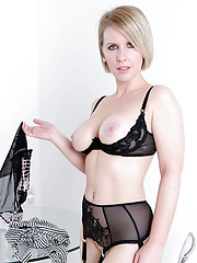 British nylons hotwife milf angela