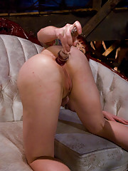 Sat Bonus: Anal Audition: Kylie Ireland, not that this anal whore needs to audition butt....
