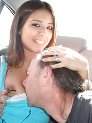 Young slut getting torn apart by a geezer cock