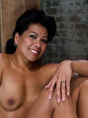 Sexy MILF Asian is bound, helpless and open.  Nothing she can do can stop us from making her cum over and over, squirting orgasms over and over...