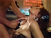 A retro chick banged by four different guys