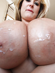 Housewife whore with huge tits gets fucked hard!